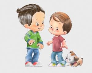 Nico y Cesar